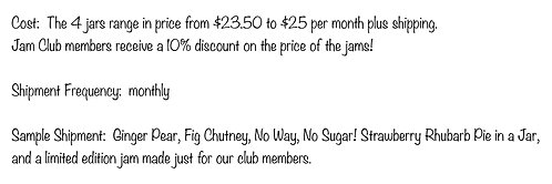 Monthly Jam Club Membership - 1st month price