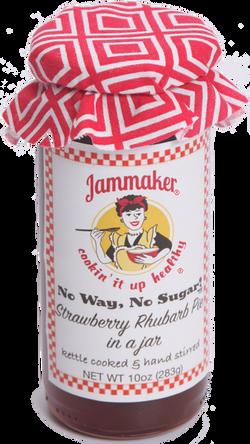 No Way, No Sugar! Strawberry Rhubarb