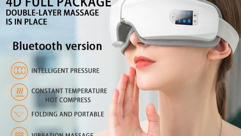 4D Smart Airbag Vibration Eye Massager Eye Care