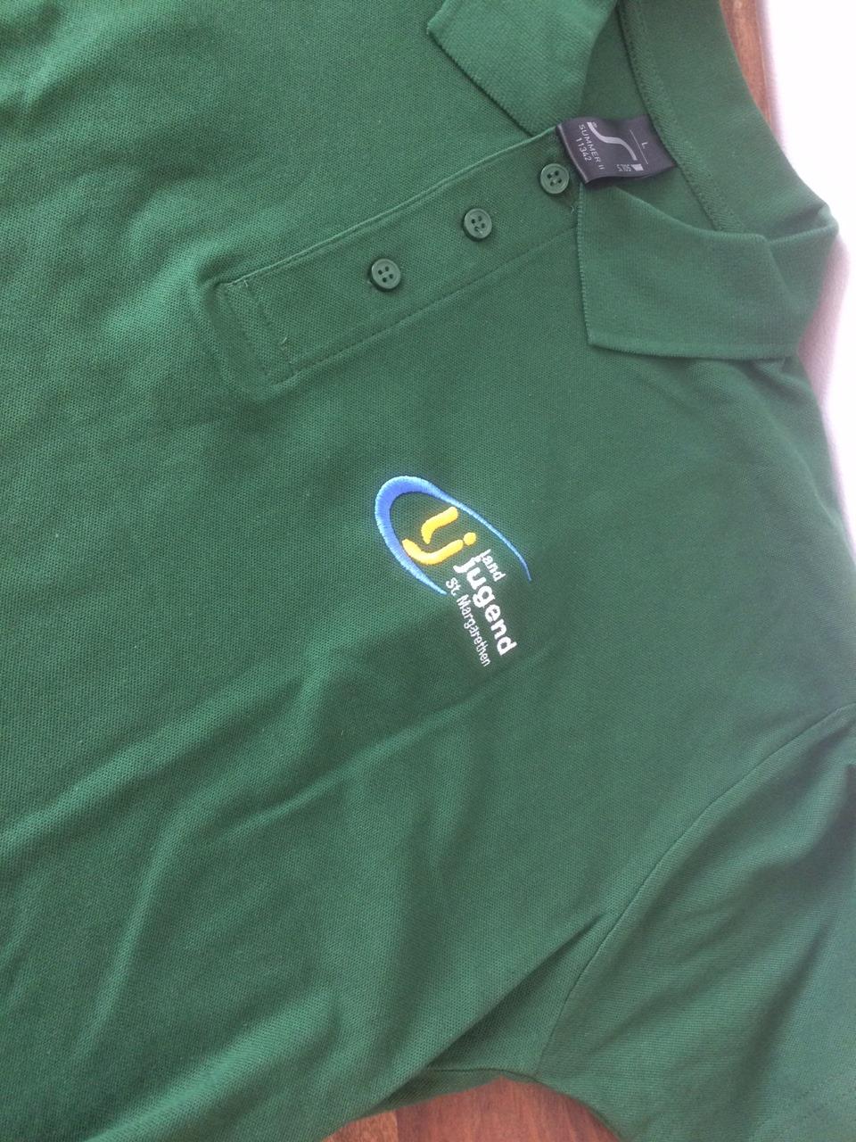 bedruckte Poloshirts