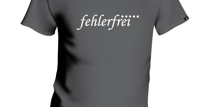 """KIDS T-SHIRT """"FEHLERFREI"""""""