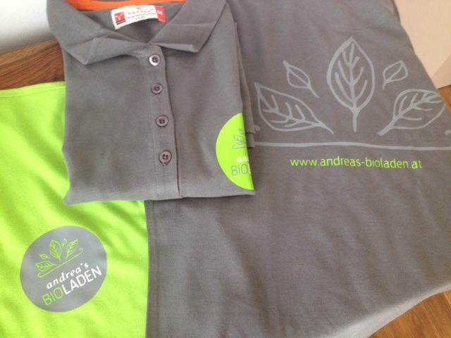 bedruckte Polo-Shirts