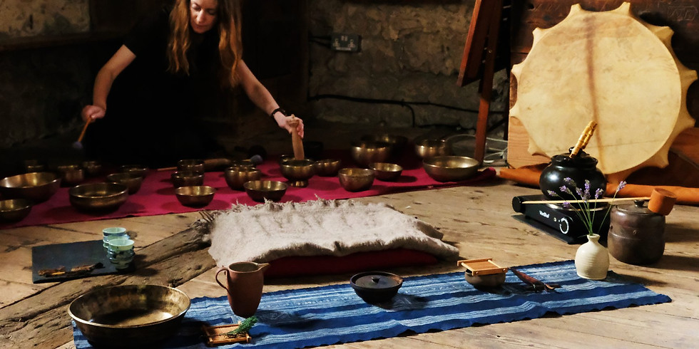 Tea Ceremony & Walking Labyrinth with Kat Bumbul