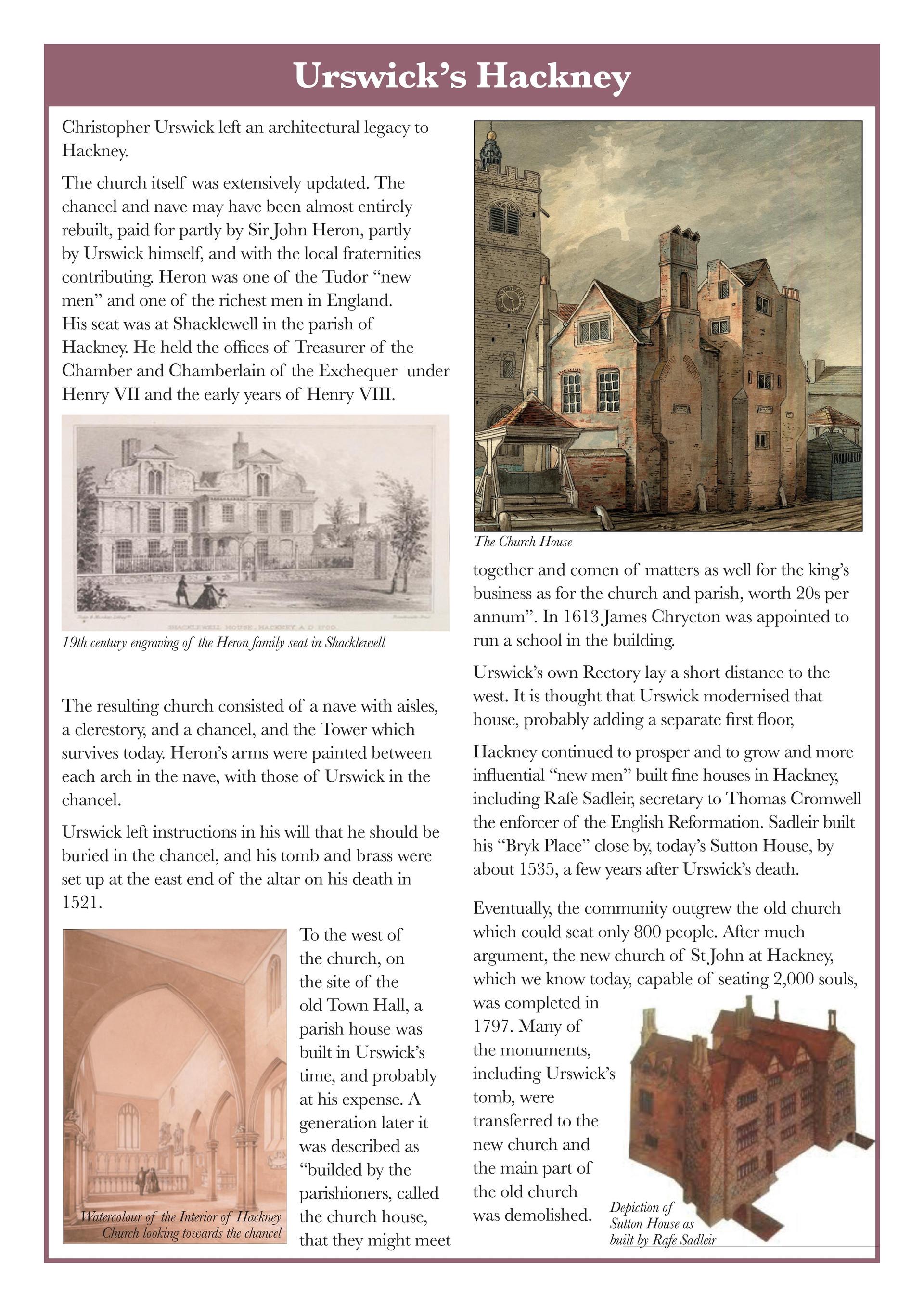 CHRISTOPHER URSWICK'S RESTORATION OF ST. AUGUSTINE'S CHURCH /6