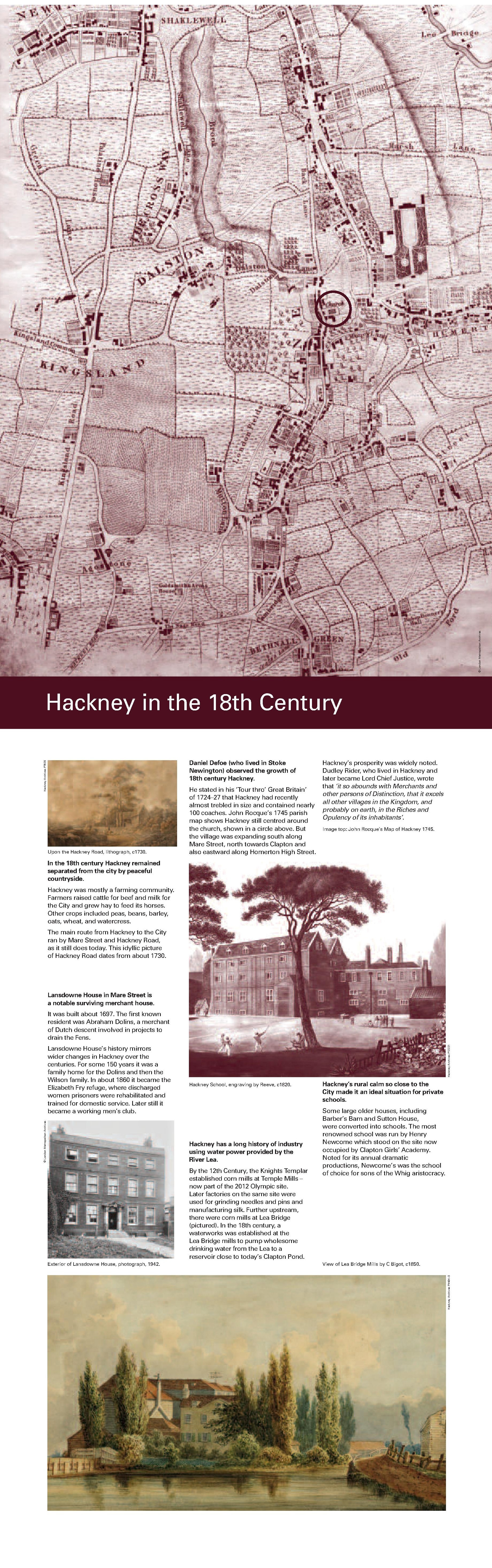 4 HACKNEY THROUGH THE AGES.