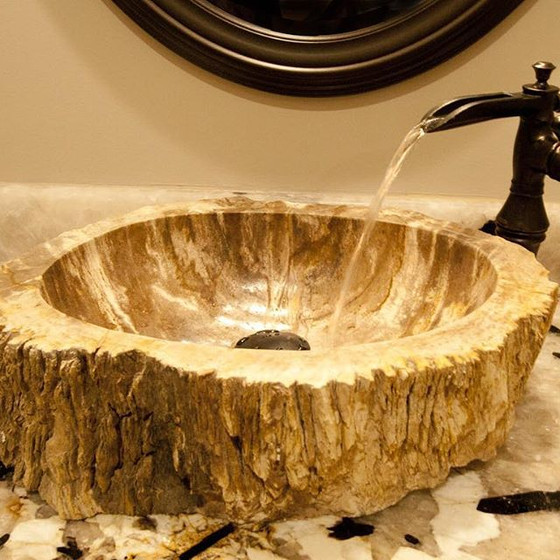 Wooden Sink Beauty