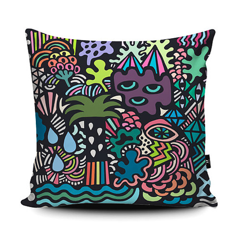 Jungle Cushion Design
