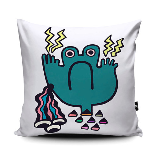 Froggy Cushion Design