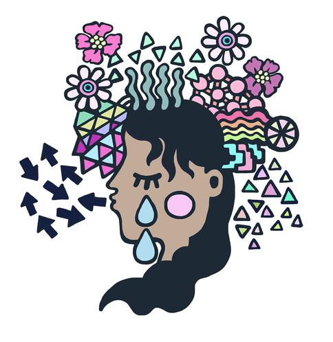 Mindfulness Spot Illustration for Bristol University