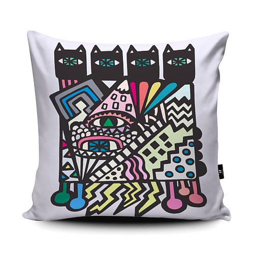 Voodoo Cats Cushion Design