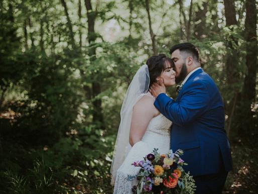 Megan + Erwin: Covid Micro-Wedding