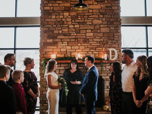 James + Lauren: Illinois Brewery Wedding