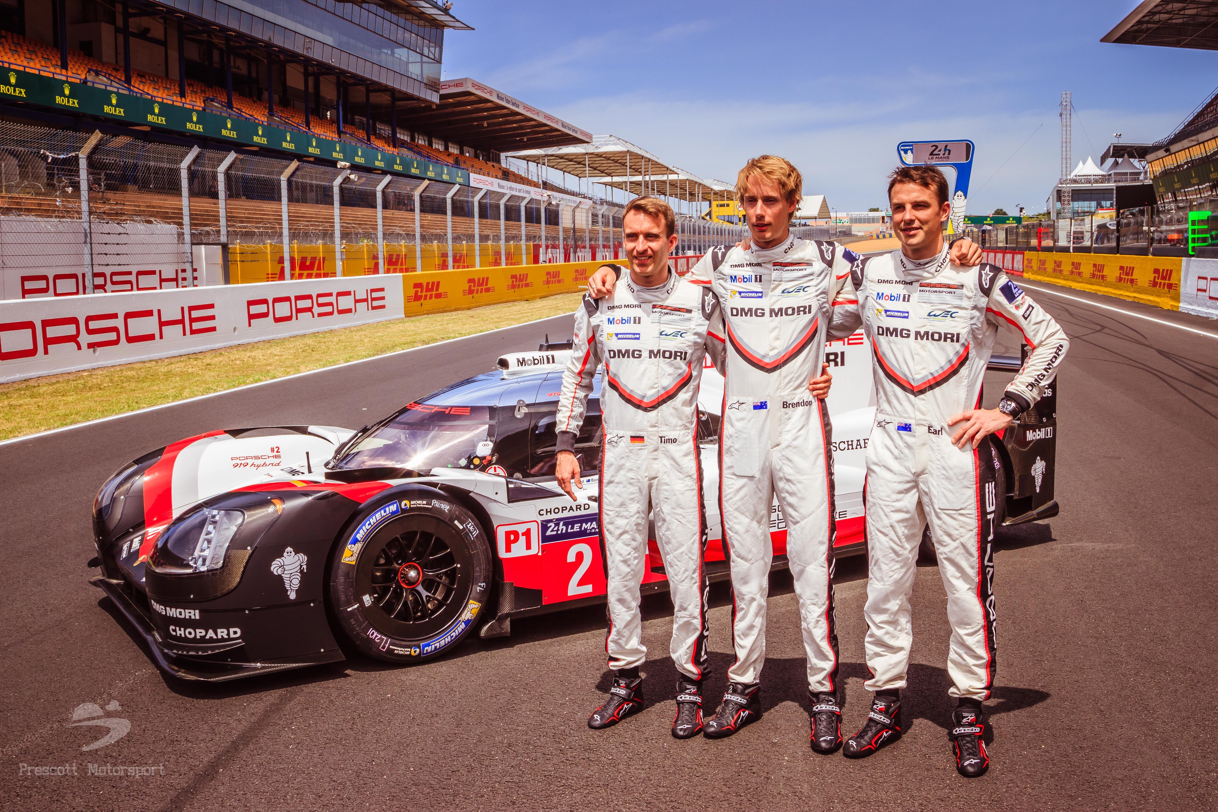 Winning drivers of the Porsche LMP1