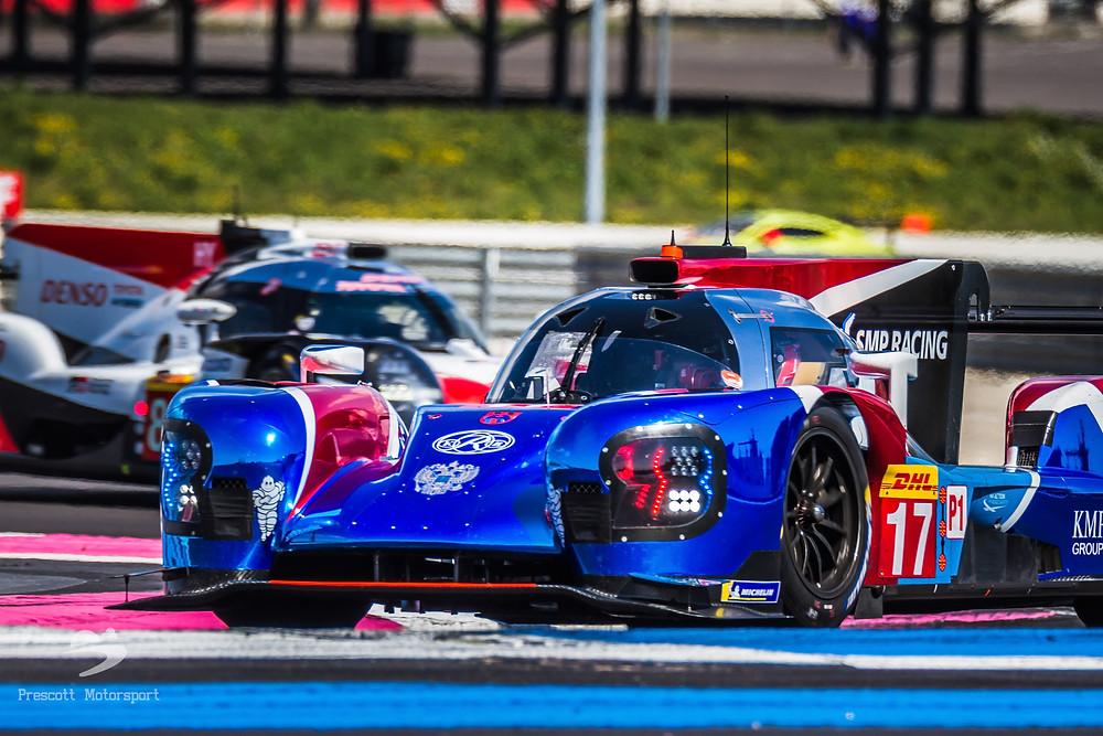 SMP BR1 LMP1 Jenson Button Le Mans