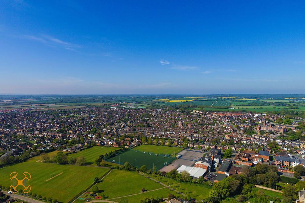 Aerial view of Maldon, Essex