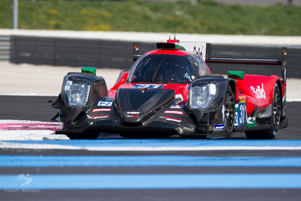 Dragon Speed LMP2 Pastor Maldonado