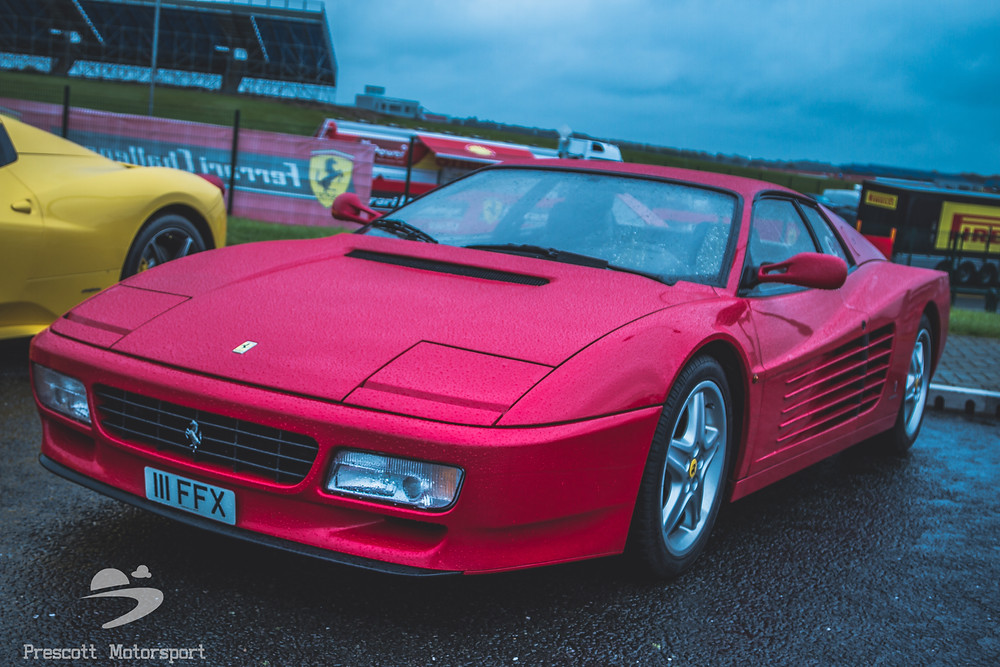 Ferrari at Silverstone