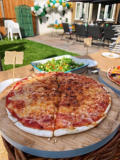 Margherita Jiko Pizza