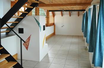 Der Essbereich unter der Galerie 2.OG