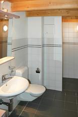 Dusche und WC 2.OG