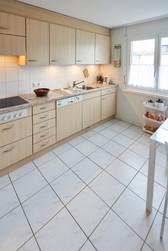 Vollausgestattete Küche mit viel Platz