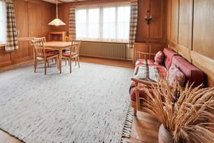 Holz esch heimelig - wie im  Esszimmer..