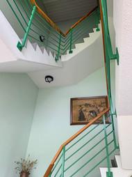 Hell und geräumig - Treppenhaus