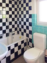 Badezimmer mit WC 1.OG