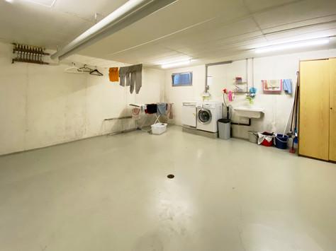 Waschküche und Trockenraum