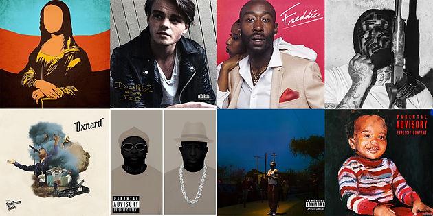 best hip hop album covers 2018