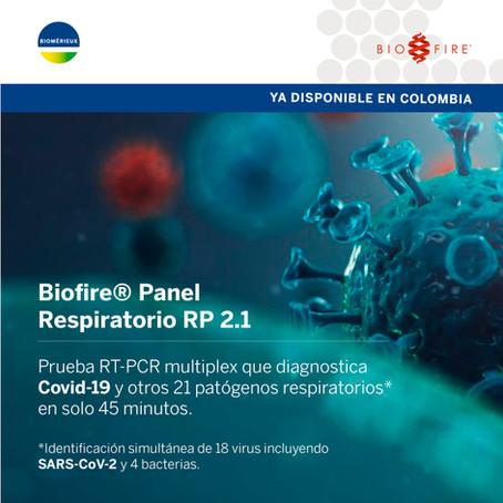 Llega la prueba RT-PCR multiplex para diagnóstico de Covid-19 y otros 21 patógenos respiratorios
