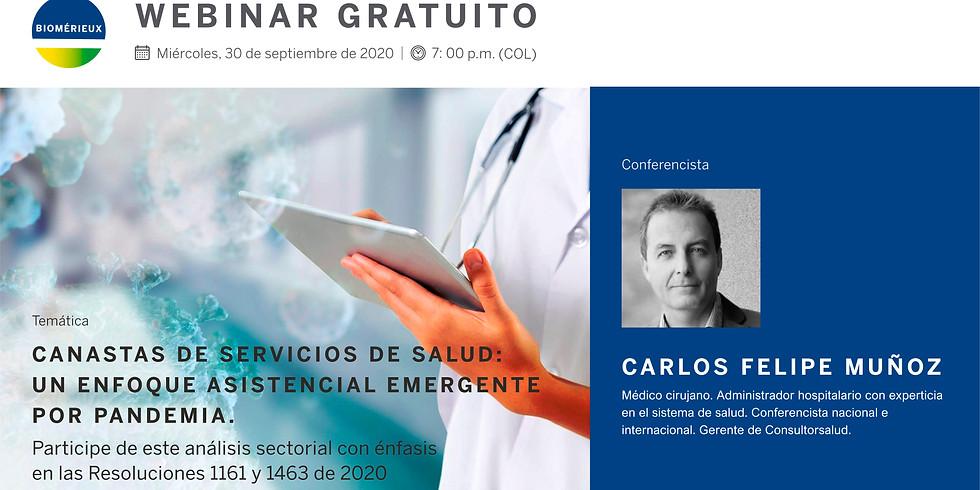 Canastas de servicios de salud: un enfoque asistencial emergente por pandemia