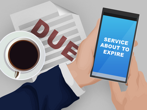 Are You Due? What to Do When You Get a Renewal Notice