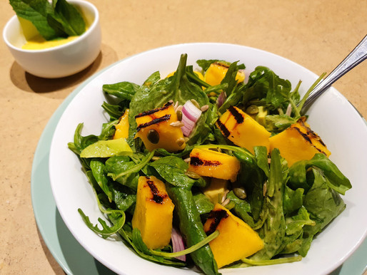 Grilled Mango Salad