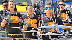 pulse percussion front ensemble