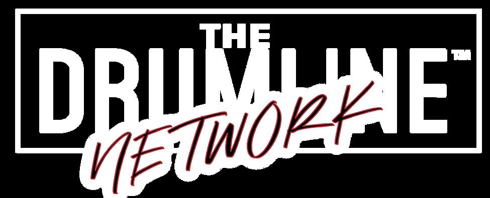 drumline network logo 2020 white