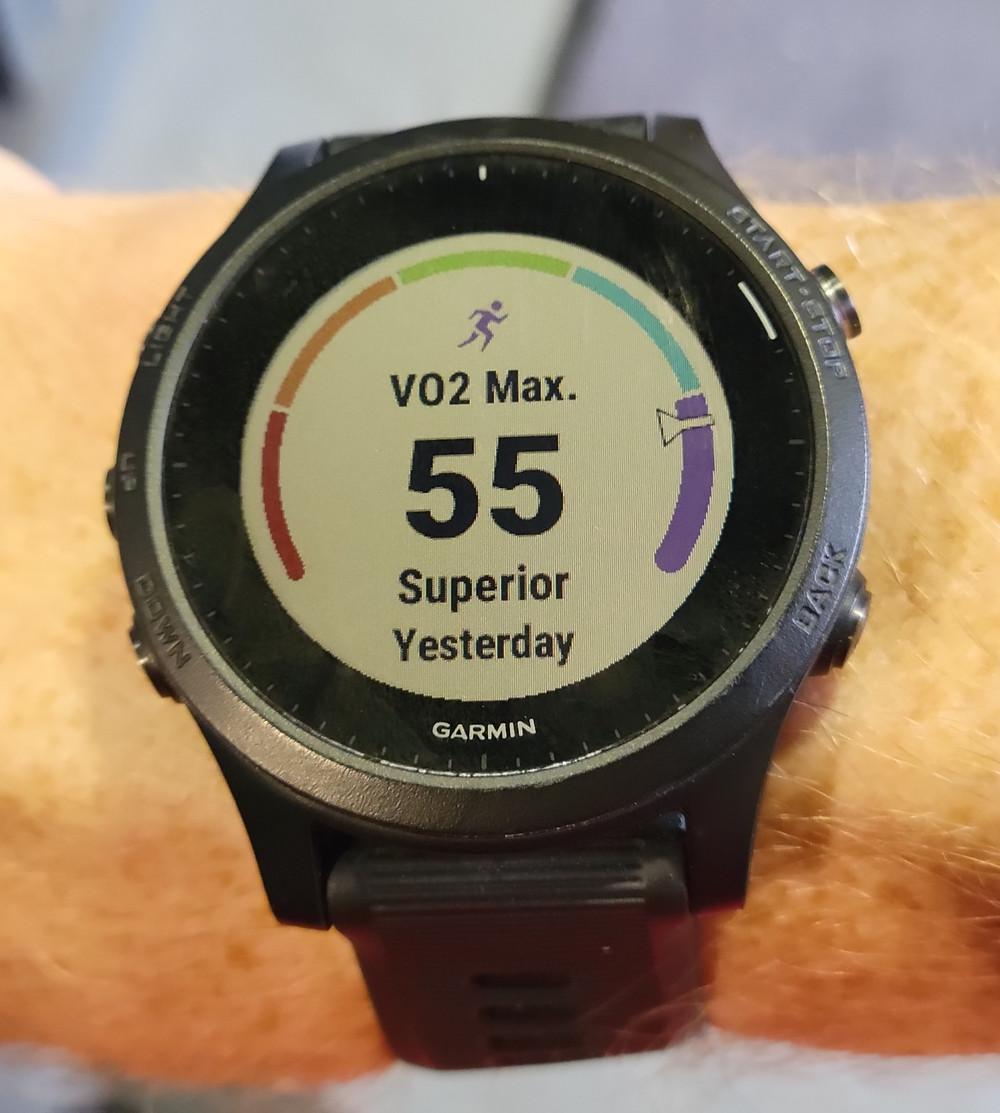 garmin 945 vo2 max