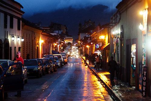 The streets of San Cristobal