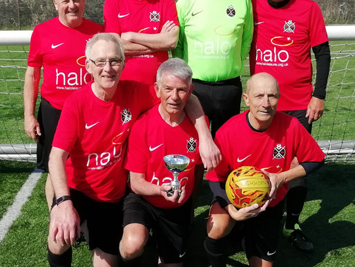THE OVER 60s CONTINUE THEIR WINNING RUN.