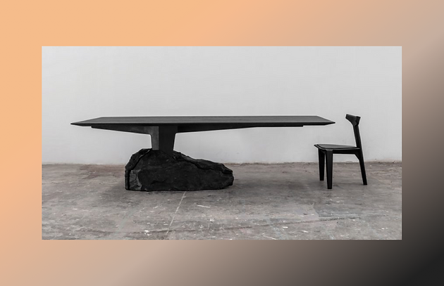the future of furniture. The Trio Of Designs Includes A Varied Range Materials, All Which Have Been Altered By Fire In Some Way. Statement From EWE Studio, They Had This Future Furniture