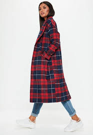 The Red Plaid Coat