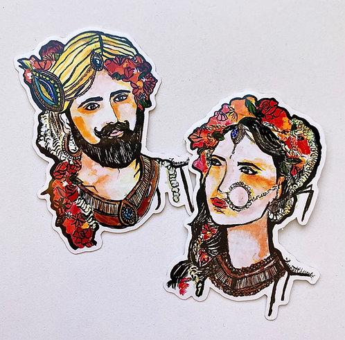 RANI & RAJA STICKER PACK