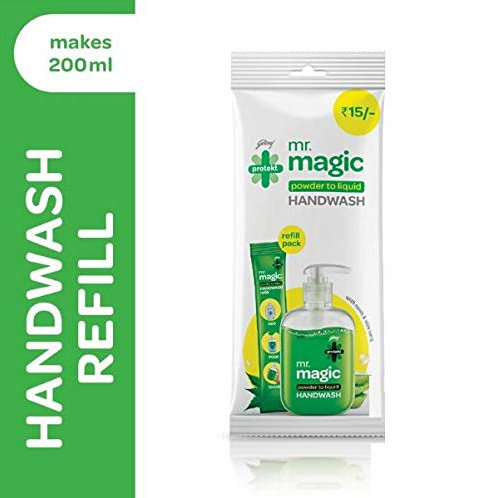 GODREJ PROTEKT MR MAGIC HANDWASH 9G REFILL