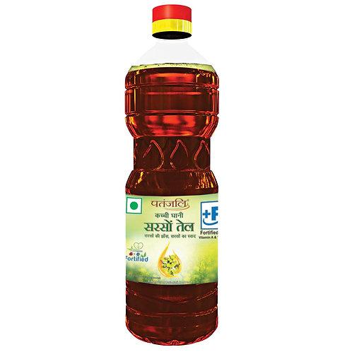Kachi Ghani Mustard Oil (Patanjali)