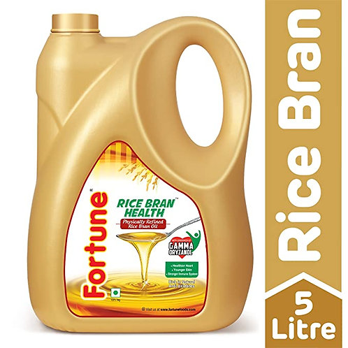 Rice Bran Health Oil (Fortune) 5Ltr Jar