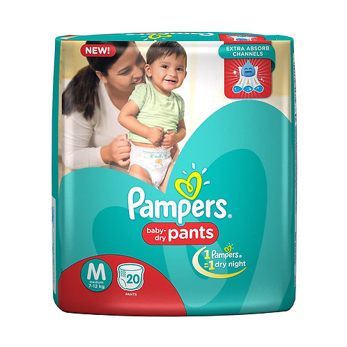 PAMPERS DIAPER S 16S