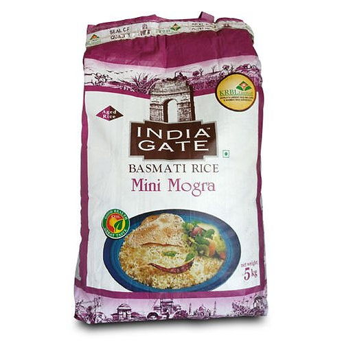 India Gate Basmati Rice Mini Mogra II 5 Kg