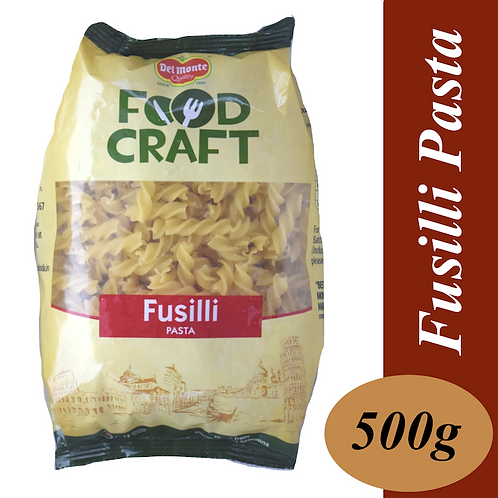 DEL MONTE FOOD CRAFT PASTA- FUSILLI 500 G