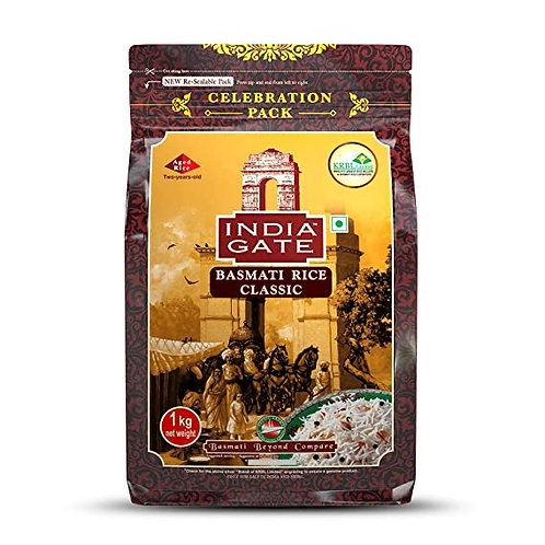 Basmati Rice Classic (India Gate) 1 Kg