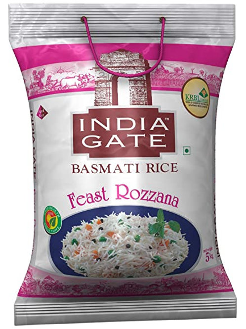 Basmati Rice Feast Rozzana (India Gate) 5 Kg
